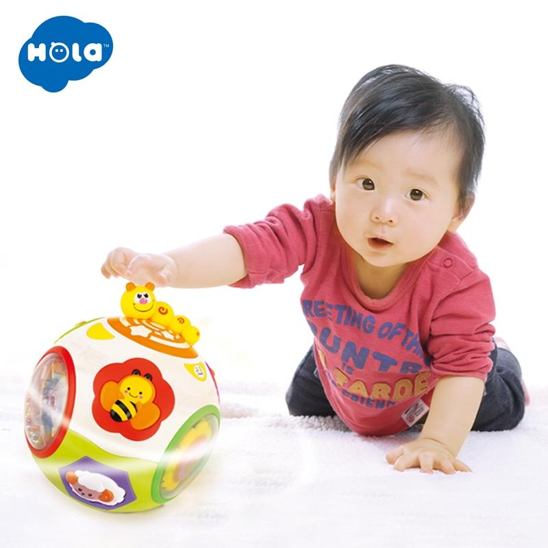 HOLA 938 bébé jouets enfant en bas âge ramper jouet avec musique et lumière enseigner forme/nombre/Animal enfants apprentissage précoce jouet éducatif cadeau - 3
