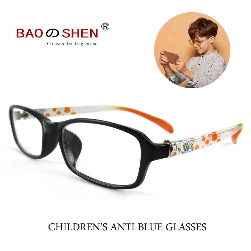 Детские анти-синие очки, мужские анти-радиационные компьютерные очки, игры в игры, не близорукость, без градусов, для девочек и детей