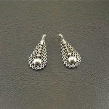 50 шт. античные серебряные полосы подвески DIY ожерелье браслет 5x15 мм A1554
