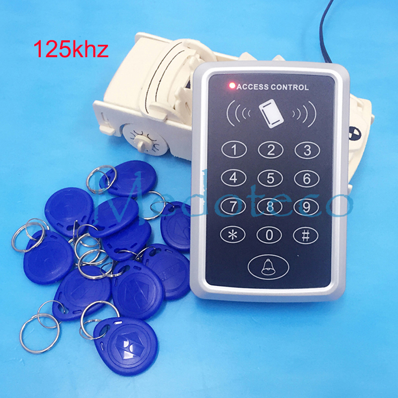 Proximity Card Access Control System Rfid Access Control Optional 125khz rfid card or 13.56mhz IC M1 Card Access controller