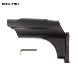 PCP Paintball Zylinder Schutz Kunststoff Schutzhülle Tank Abdeckung Schwarz für 0.20L/0.35L/0.45L/0.5L Hochdruck Zylinder TC002