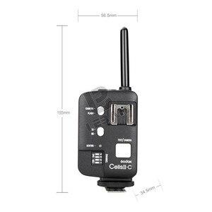 Image 3 - 2x Godox Cells II 무선 스피드 라이트 플래시 트랜시버 트리거 Canon EOS 카메라 용 고속