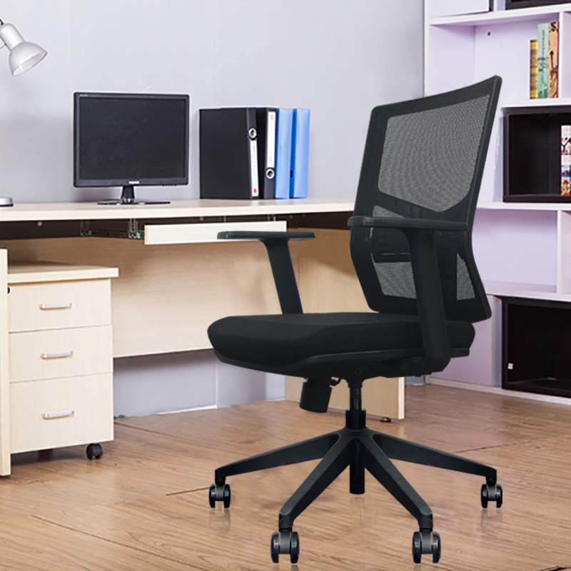 Office Chair Work From Home Computer Chair Armrest Business Mesh Office Chairs Breathable Gaming Swivel Chair White Collar Chair