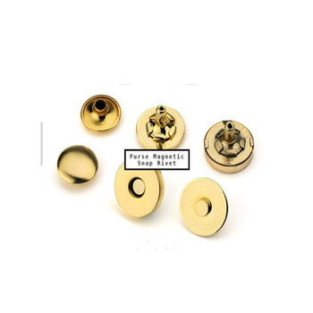 Metal Magnetic Snaps Closures Button 18mm