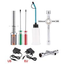 For HSP 80141 Rechargeable Glow Plug starter Igniter AC Charger Ignition kit for Gas Nitro Engine Power 1/10 1/8 RC Car Engines