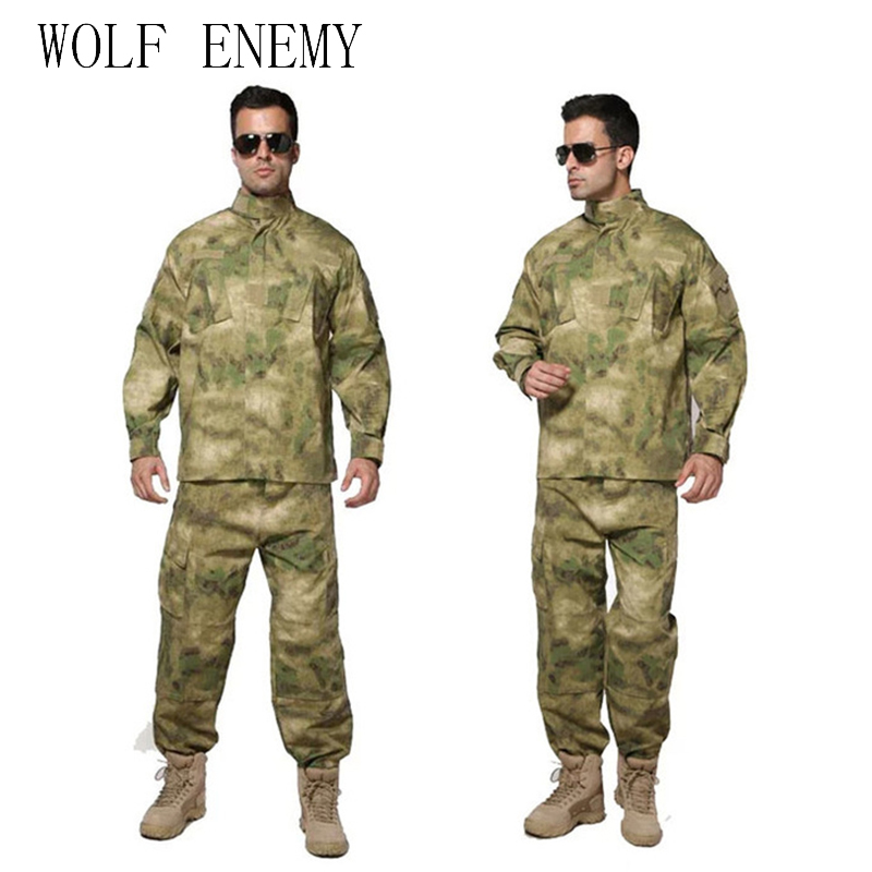 New US Army Navy BDU CP Multicam Camouflage Suit Military Uniform Tactical Combat Airsoft Farda Only Jacket & Pants camouflage suit sets army military uniform combat airsoft war game uniform jacket pants uniform
