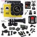 Ação Da Câmera F60/F60R 2.4G remoto ultra hd 4 K ação 12mp câmera de vídeo à prova d' água extrema go pro estilo Esporte Camera + conjunto extra