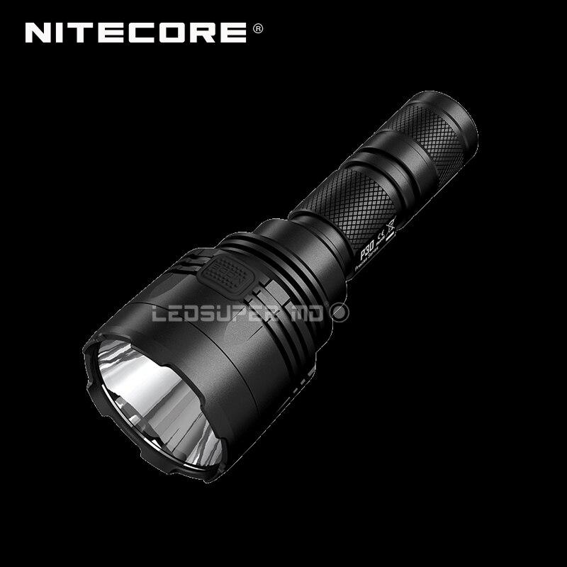 Nitecore P30 LED Flashlight Compact Long Range Hunting Light with 618 Meters Beam Distance