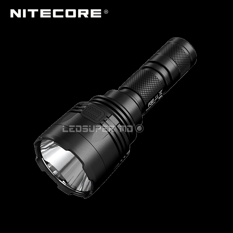 New Arrival Nitecore P30 LED Flashlight Compact Long Range Hunting Light with 618 Meters Beam Distance