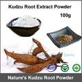 100 gram Orgânica Extrato Da Raiz de Kudzu Pueraria Extrato Em Pó 40% de Isoflavona 10:1