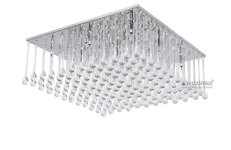Moderne Led Lampen Kristall Kronleuchter Pendelleuchte Regentropfen Beleuchtung 110 V 240 VChina