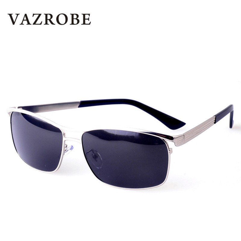 e1407d2b2ac Detail Feedback Questions about Vazrobe Polarized Sunglasses Men Brand  Designer Luxury Sun Glasses for Man Wide Face Driving Goggles UV400 Anti  Glare Male ...