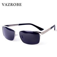 Vazrobe Polarized Sunglasses Men Brand Designer Luxury Sun Glasses for Man Wide Face Driving Goggles UV400 Anti Glare Male 2018
