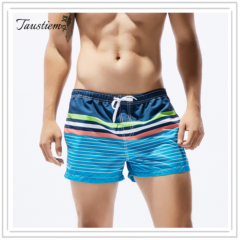New Arrivals Men Swimwear Swimsuits Beach Board Shorts Boxer Trunks Sea Casual Short Bottoms Quick Drying Gay Pockets Shorts Board Shorts