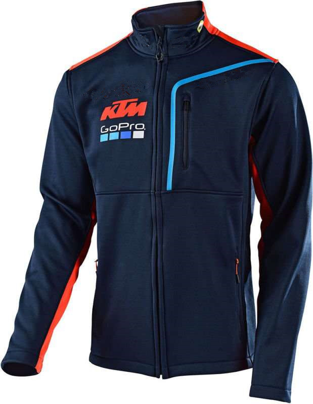 Motogp for ktm motocross sweatshirt outdoor sports stand collar racing jacket with zipper rose print voile splicing stand collar zip up jacket