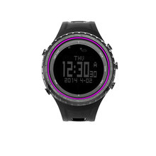 SUNROAD Men's Sport Digital Watch-Running Hiking Altimeter Compass Fishing Barometer Clock Sports Watches Men Purple sunroad fx712b digital fishing barometer watch w altimeter thermometer weather forecast time