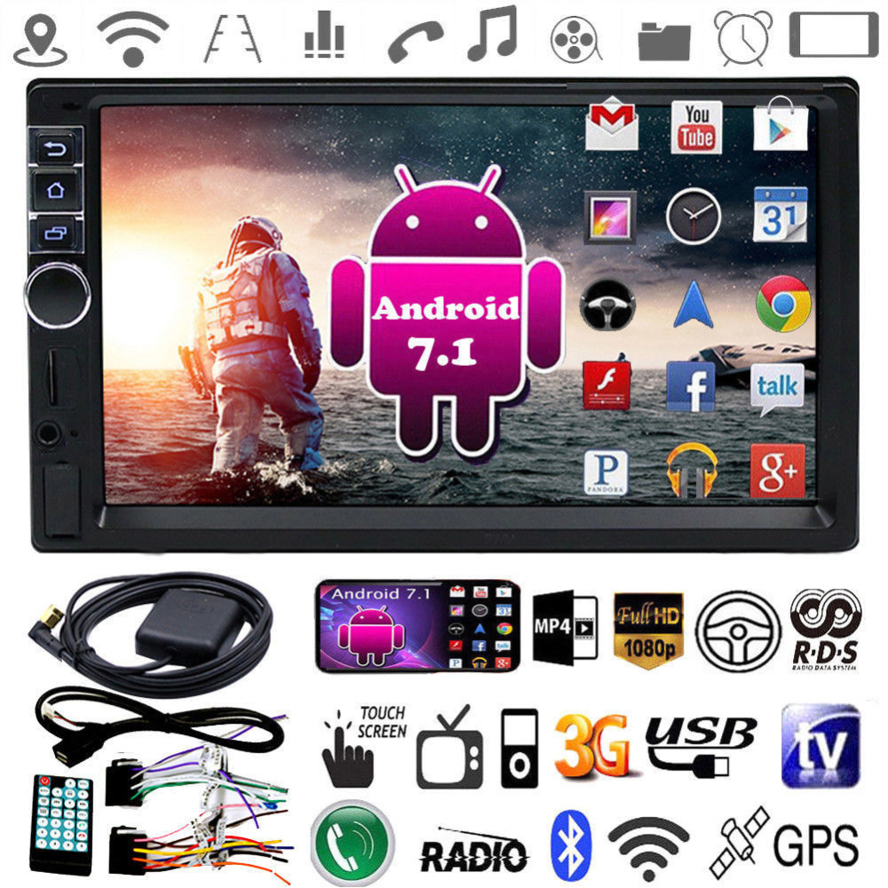 MP4 MP5 music 1080P video game player bluetooth support WIFI FM radio with 7 inch touch screen portable Car MP4 mp3 16GB player