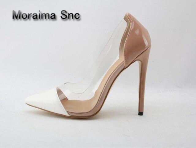 Здесь продается  Moraima Snc Brand sapatos mulher 2018 women shoes high heels pumps mixed colors office ladies shoes shallow zapatillas mujer   Обувь