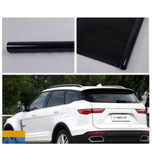 HOHOFILM 80 см x 30 м черная оконная пленка Солнечный оттенок автомобиля-Стайлинг автомобильная пленка из многослойного стекла дом 99% УФ-Защита винил нано керамический оттенок