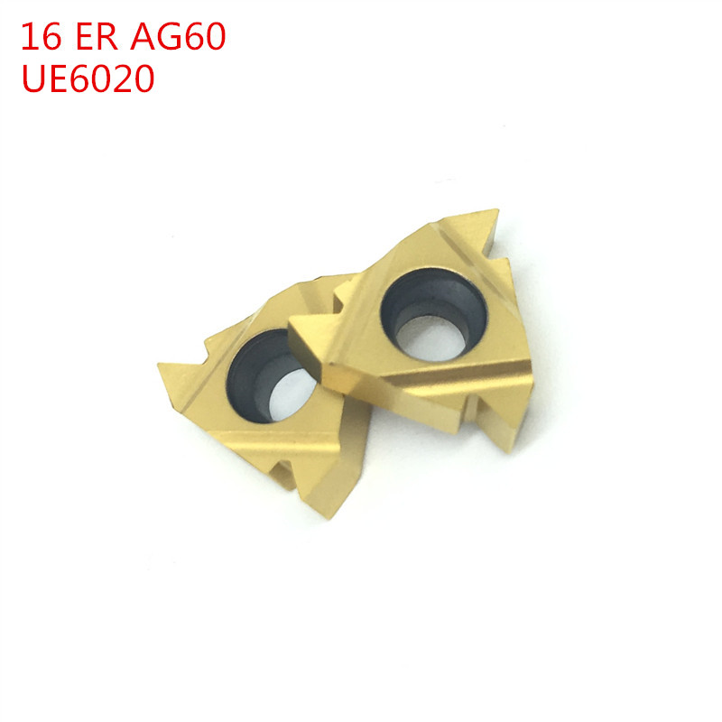 FTT 10PCS MMT 16ER AG60 UE 6020 External Turning Tools Carbide insert Lathe cutter Tool Tokarnyy turning insert