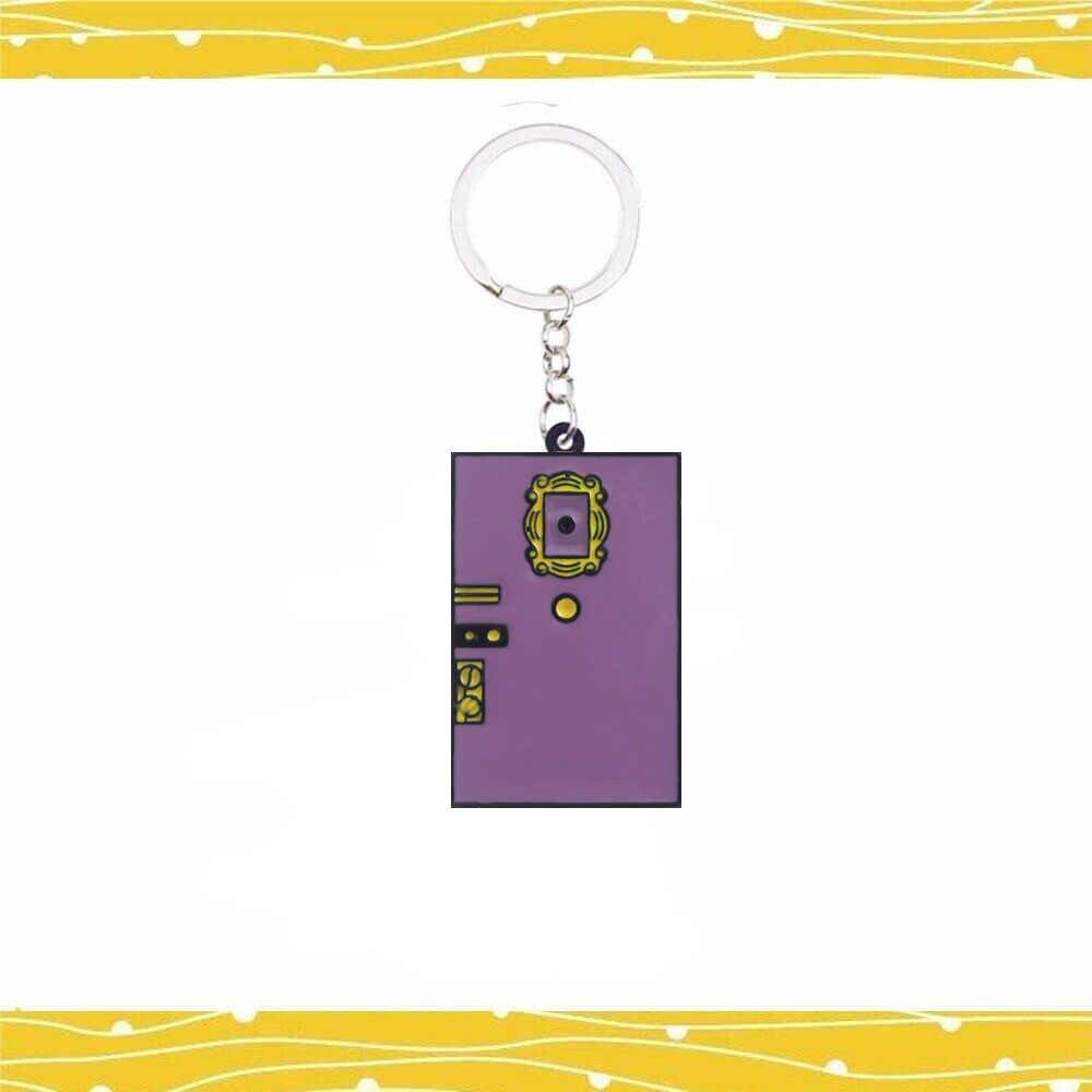 Przyjaciół brelok TV Show Monica drzwi 2C ramka na zdjęcia brelok akrylowy zawieszki samochodowe emalia wysokiej jakości najlepszy przyjaciel brelok do kluczy