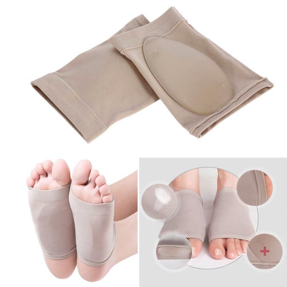 1 пара ортопедические стельки от плоскостопия, подушечки из силиконовой пены, подушечки для ног, ортопедические стельки, вставные подушечки, носки, длина 11 см, ширина 7 см