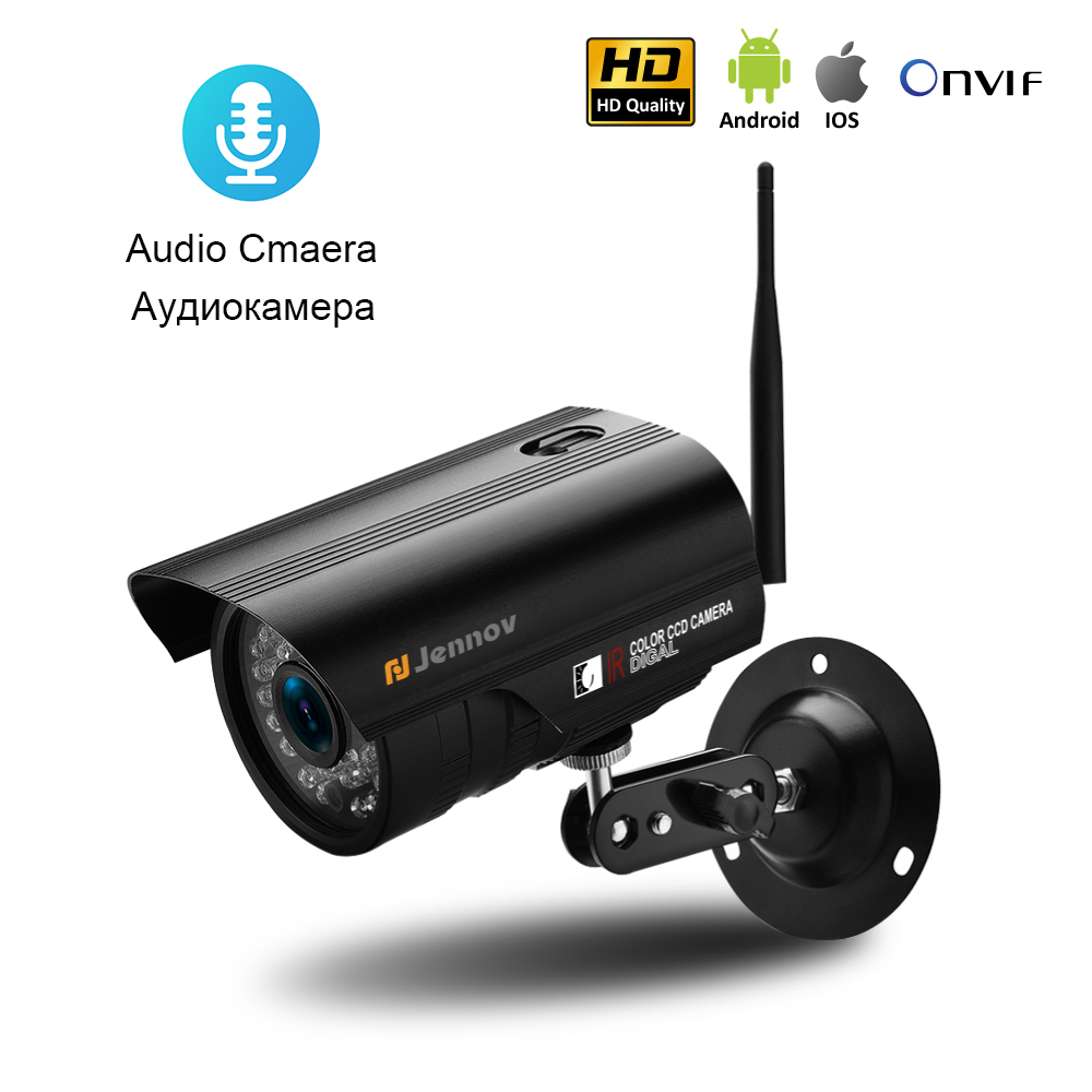 Audio Record Ipcam HD Onvif 720P 960P 1080P Wireless Wifi Camera Home Security IP Camara Outdoor Waterproof 32G SD Card Optional ...