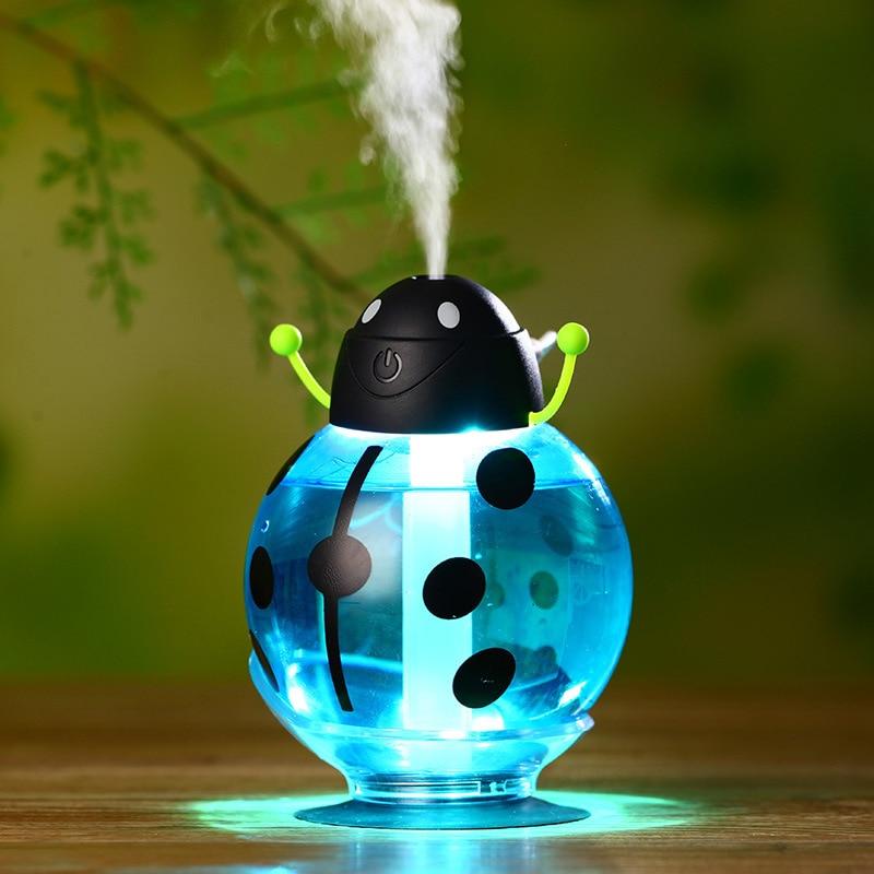 Cute Beatles Led Light Humidifier Air Diffuser Purifier