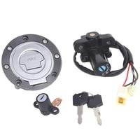 Ignition Switch Gas Cap Seat Lock Key Kit For Yamaha MT03 06 12 YZF R6 XJ6 09 15