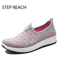 STEPREACH Brand Shoes Woman Flats Women Tenis Feminino Chaussures Femme Sapato Feminino Platform Slip On Casual