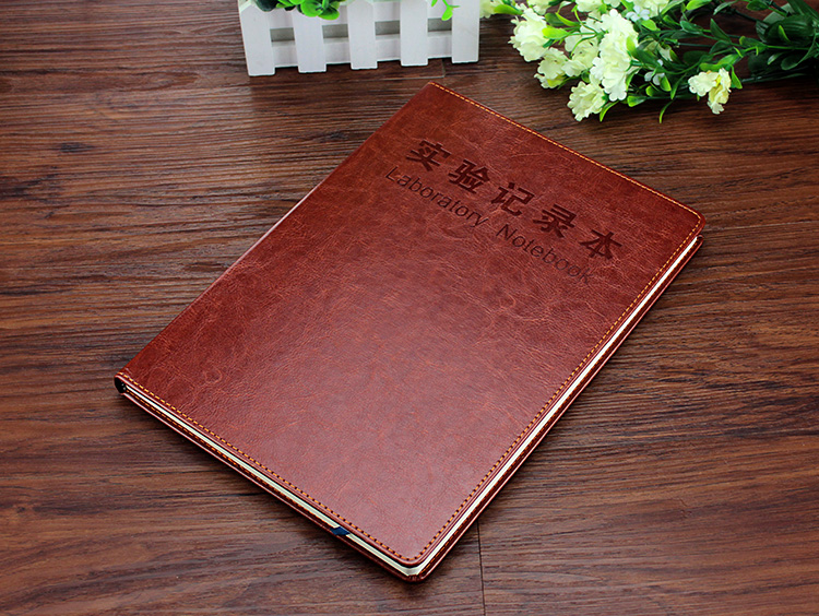 Experiment record book Chemical experiment report book Laboratory record book Custom  A4