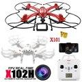 Nueva MJX X102H GRAN Quadcopter 6-Axis RC Drones Despegue Automático Puede añadir Cámara Gopro VS X101 HD FPV Drone con Una Clave volver