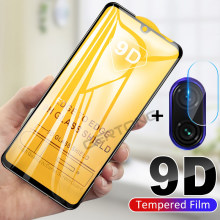 2-in-1 Back Camera Lens Glass For Redmi Note 7 Tempered Glass Screen Protector for Xiaomi Redmi Note 7 Glass Protective Film(China)
