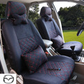 Universal Car Seat Covers For mazda cx March 6 May 2014 323 black/beige/gray/red car accessories