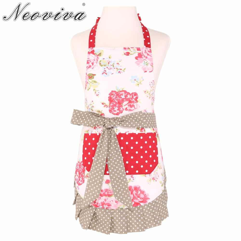 Neoviva Adjustable Child Garden Apron With Pocket For Kid Girls Kathy Floral Lollipop Red Clean Drinking Apron Grembiule Cucina Aprons With Pockets Garden Aprongrembiule Cucina Aliexpress