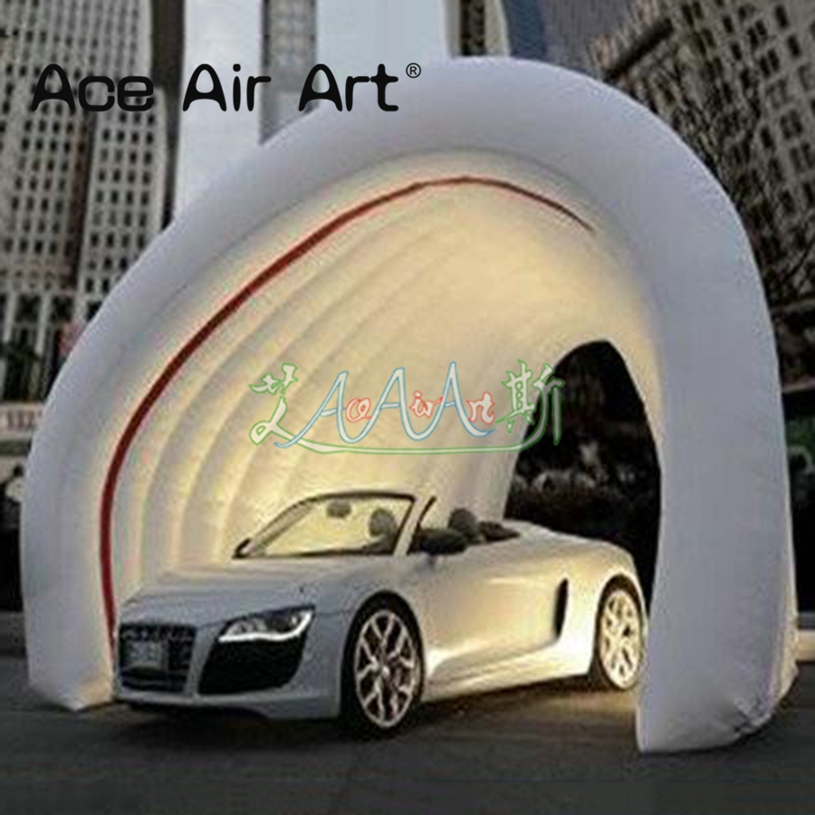 Attractive white color inflatable dome <font><b>garage</b></font> <font><b>tent</b></font> for <font><b>cars</b></font>, inflatable dome <font><b>tent</b></font> for sale image