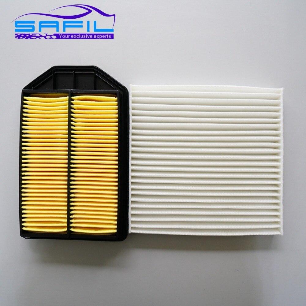 Cabin filter air filter for 2007 2011 honda crv 2 4l oem 17220