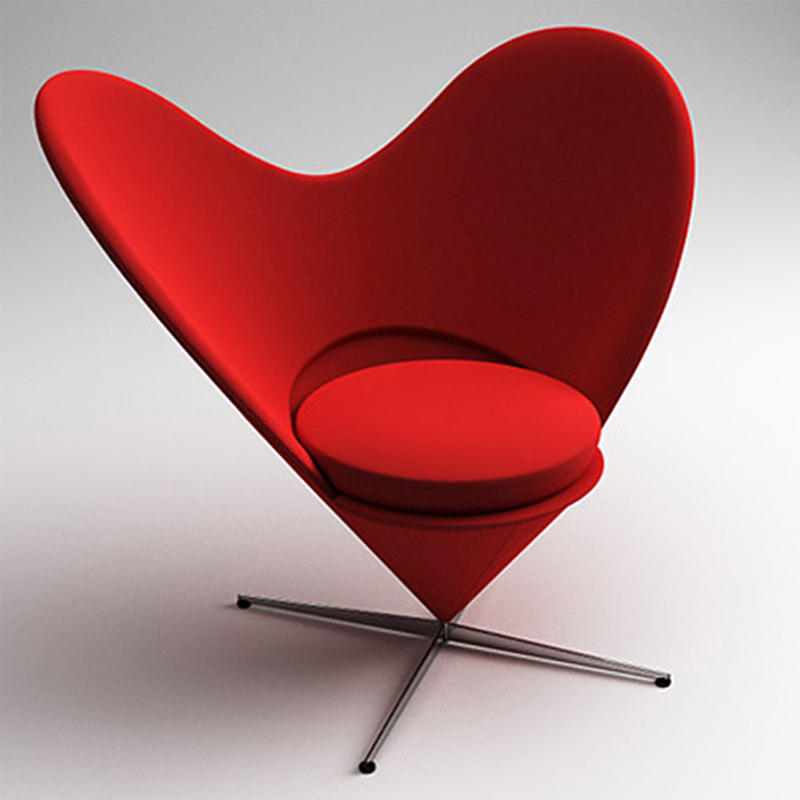Charmant Heart Cone Chair Creative Heart Shaped Velvet Chair Leisure Chair Butterfly  Chair Fashion Designer Sofa In Conference Chairs From Furniture On ...