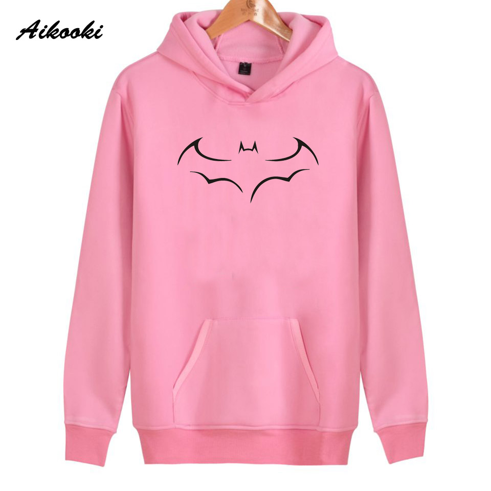 Aikooki Batman Hoodies Sweatshirt women/men Casual Hoodie Men New Batman Sweatshirt Hoodie Men Winter Cotton Hoodies Tops 4XL