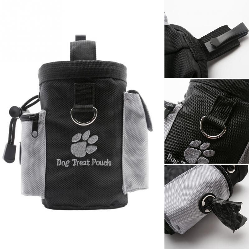 Pocket Pouch Snack-Bag Reward Detachable Treat Bags Dog Training Doggie Pet-Feed Behaviour-Aids