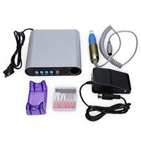 Professional Electric Nail Drill File Manicure Pedicure Polish Machine Set
