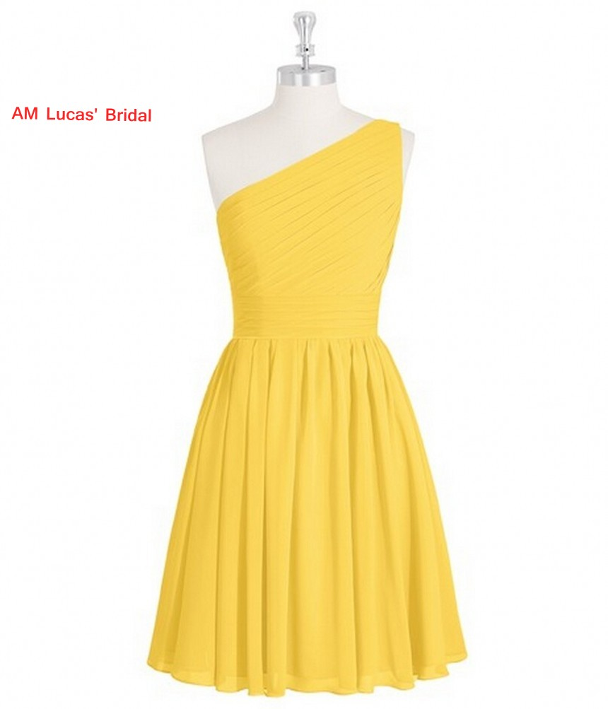 New Yellow Simple   Cocktail     Dress   Knee Length Prom Party Gowns   Cocktail   Party Short   Dresses   Vestido De Festa Curto