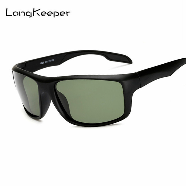 c200d708484cc LongKeeper Mens Retro Sun Glasses Polarized Sunglasses for Driving Square  Frame Goggles Men Fishing Eyewear Male Gafas de sol