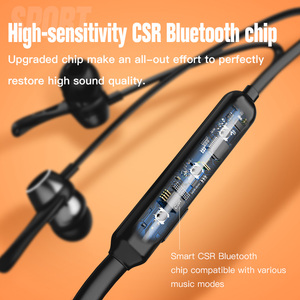 Image 4 - 高速オンチップ · オシレータワイヤレスヘッドフォン防水のbluetoothイヤホンスポーツ低音イヤフォンiphone用マイクとステレオearbuts xs xiaomi 8電話