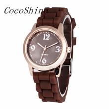CocoShine B-112  Fashion Men/Women Unisex Silicone Causal Quartz Analog Wrist Watch wholesale