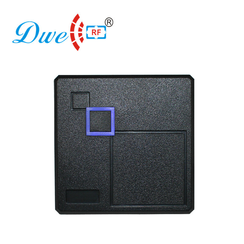 DWE CC RF access control card reader 125khz security card id scanner black plastic chip card reader dwe cc rf 2017 hot sell 13 56mhz 12v wg 26 rfid outdoor tag reader for security access control system