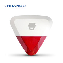 WS280 WS-280 Wireless Outdoor Strobe Siren for GSM Phone Wireless Home Security Burglar Alarm System Control CHUANGO G5 / G3