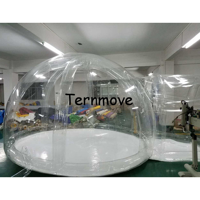 inflatable lawn clear bubble tent with support (one time inflatable)living outdoor tent  sc 1 st  AliExpress.com & inflatable lawn clear bubble tent with support (one time ...
