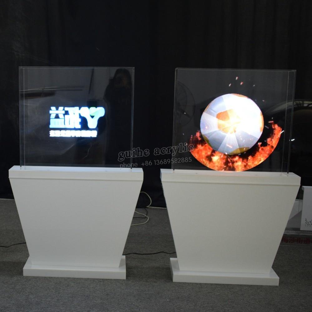 3D Hologram Advertising Fan 3d Hologram Advertising Player 3D Holographic Led Fan 65CM WIFI Card Support 1080P
