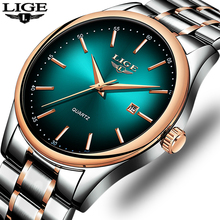 LIGE Watch Men Simple Fashion Swiss Brand Quartz Watch Luxury Creative Waterproof Date Casual Men Watches Relogio Masculino sekaro 2806 switzerland watches men luxury brand 2018 new genuine quartz watch men s fashion trend waterproof casual simple